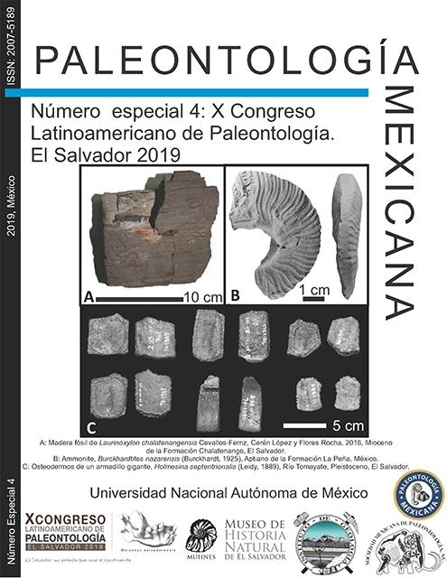 X Congreso Latinoamericano de Paleontología. El Salvador 2019